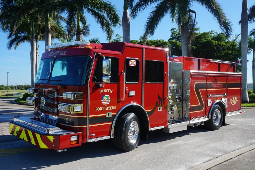North Fort Myers Fire Department Custom Sutphen