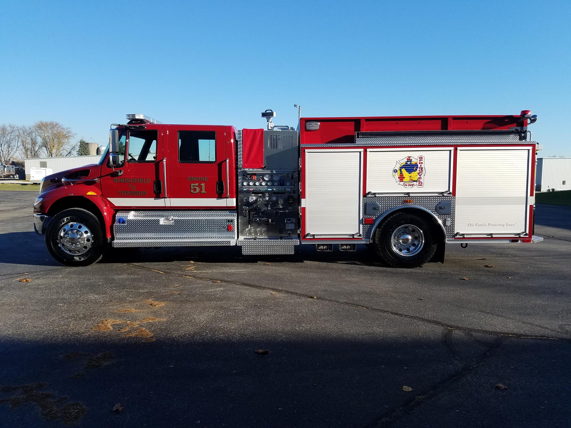 Commercial Pumper C2 Body, Holland, OH