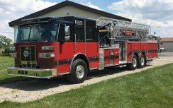 SPH 100 Aerial Platform Fire Truck