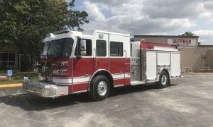 In stock custom fire trucks sutphen custom pumper s2 body demo 431 sciox Gallery