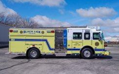 Custom Pumper – Black Lick Volunteer Fire Department, PA
