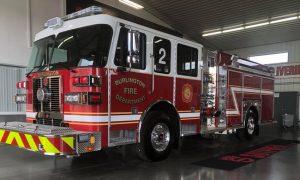 Burlington Fire Department Driver Side