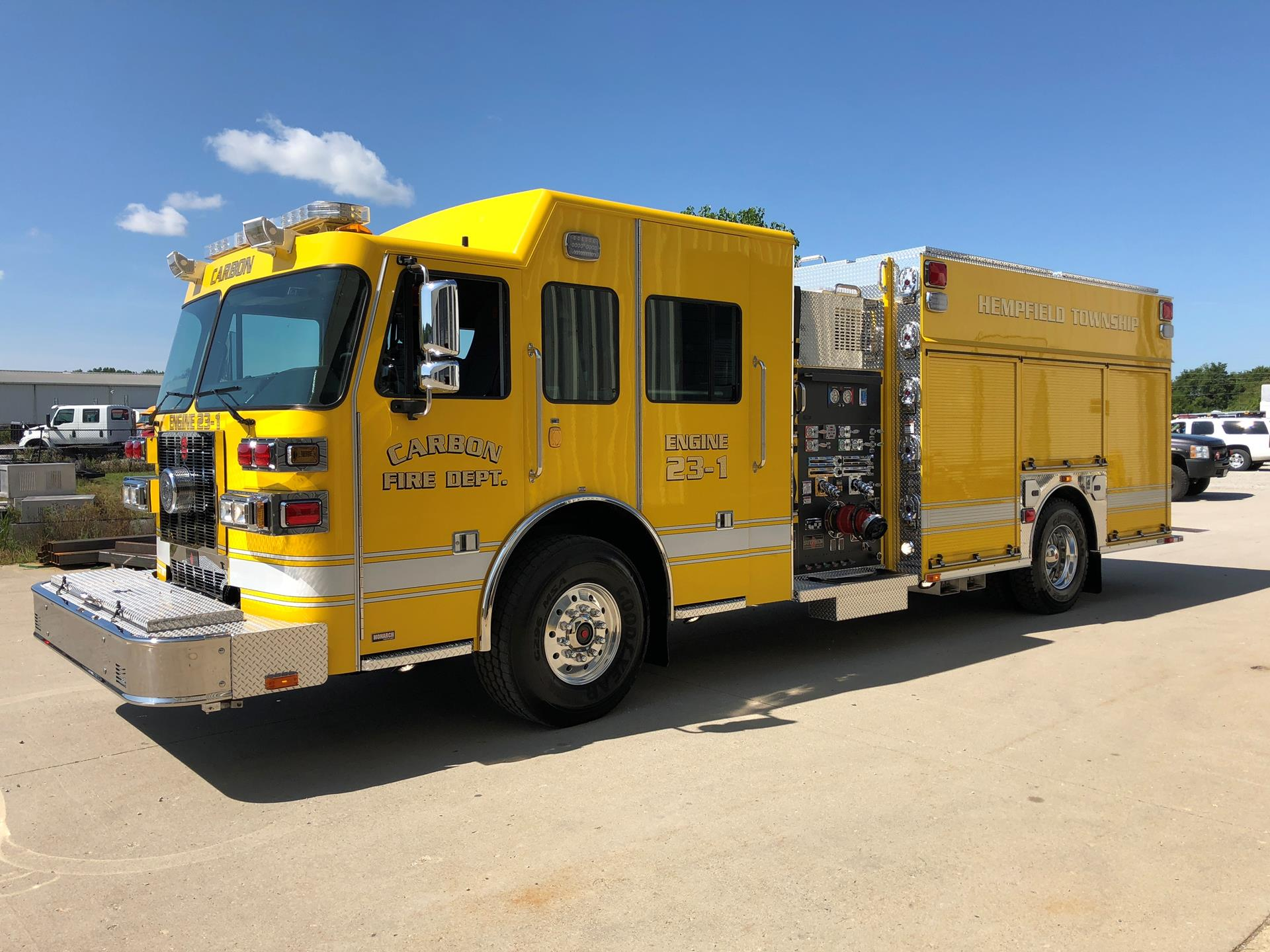 Custom Pumper – Carbon Volunteer Fire Department, PA