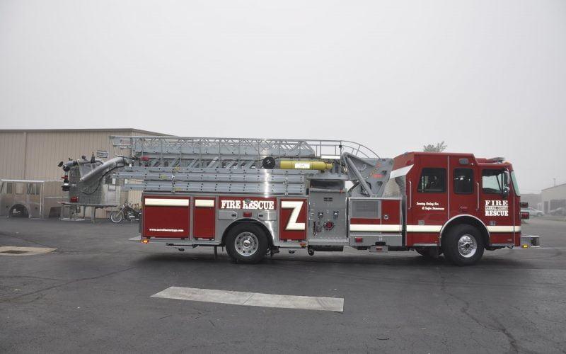 SP 70 – Carroll County Fire, GA – Sutphen