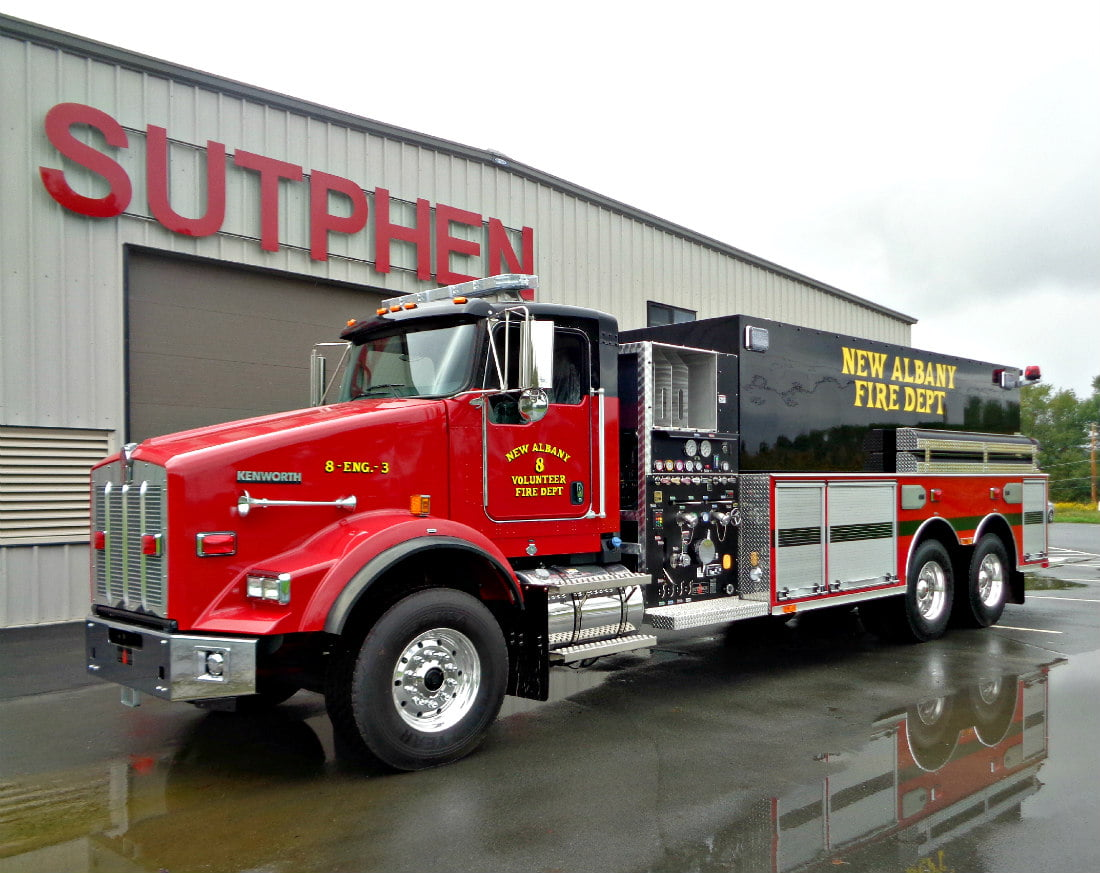 Commercial Wetside Tanker – New Albany Fire Department, PA