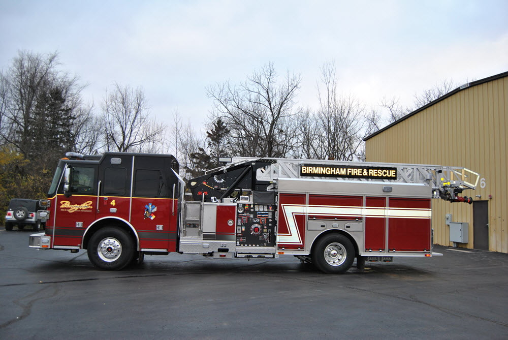 Birmingham Fire Department Sutphen