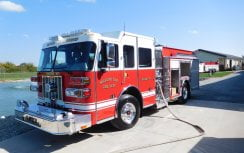 Custom Fire Pumper Truck