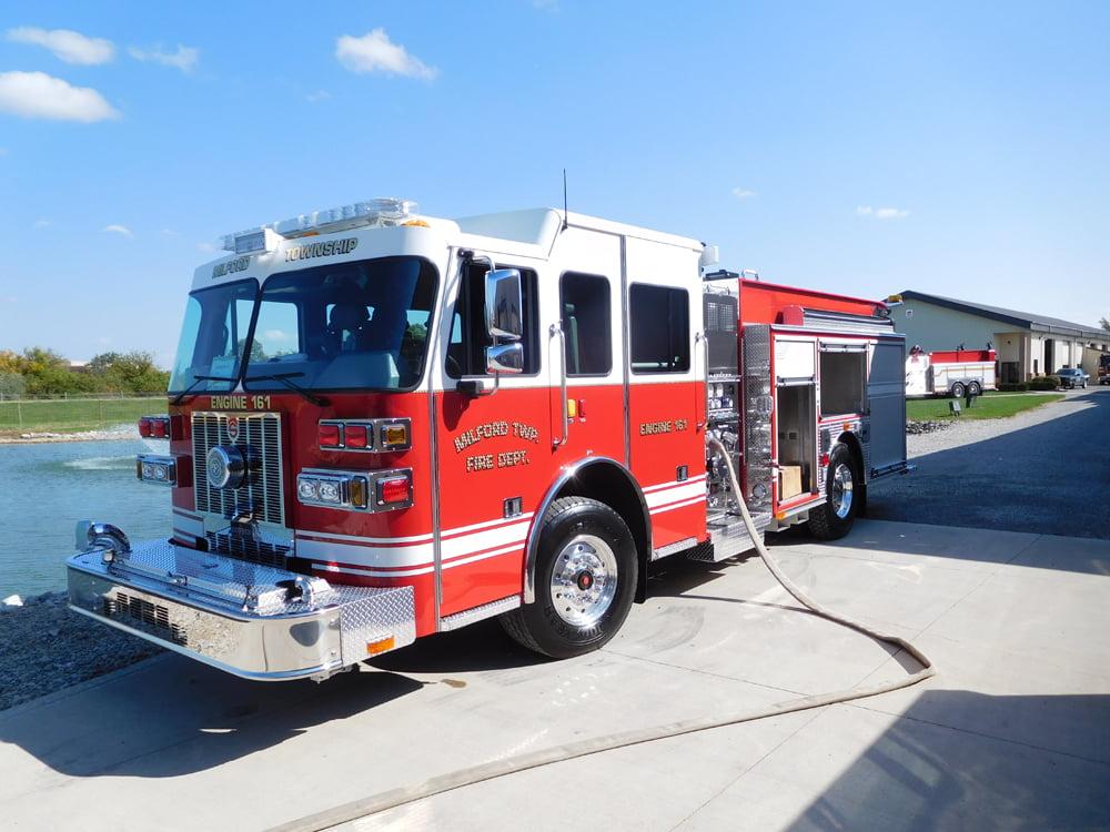 Custom Fire Pumper Truck