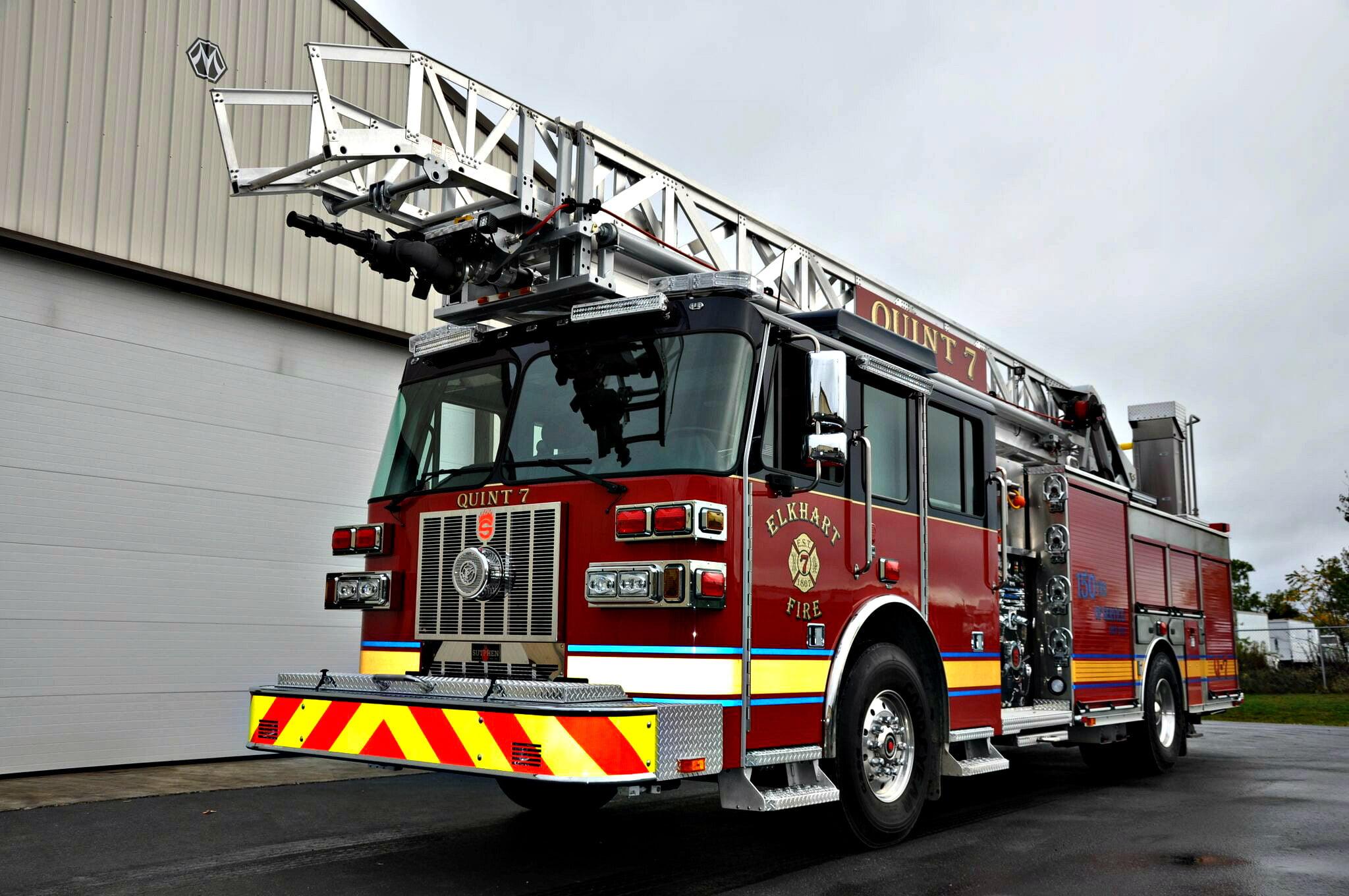 SLR 75 Aerial Ladder, Elkhart, IN