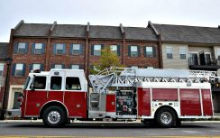 SA 75 Aerial Ladder, Columbia, MO