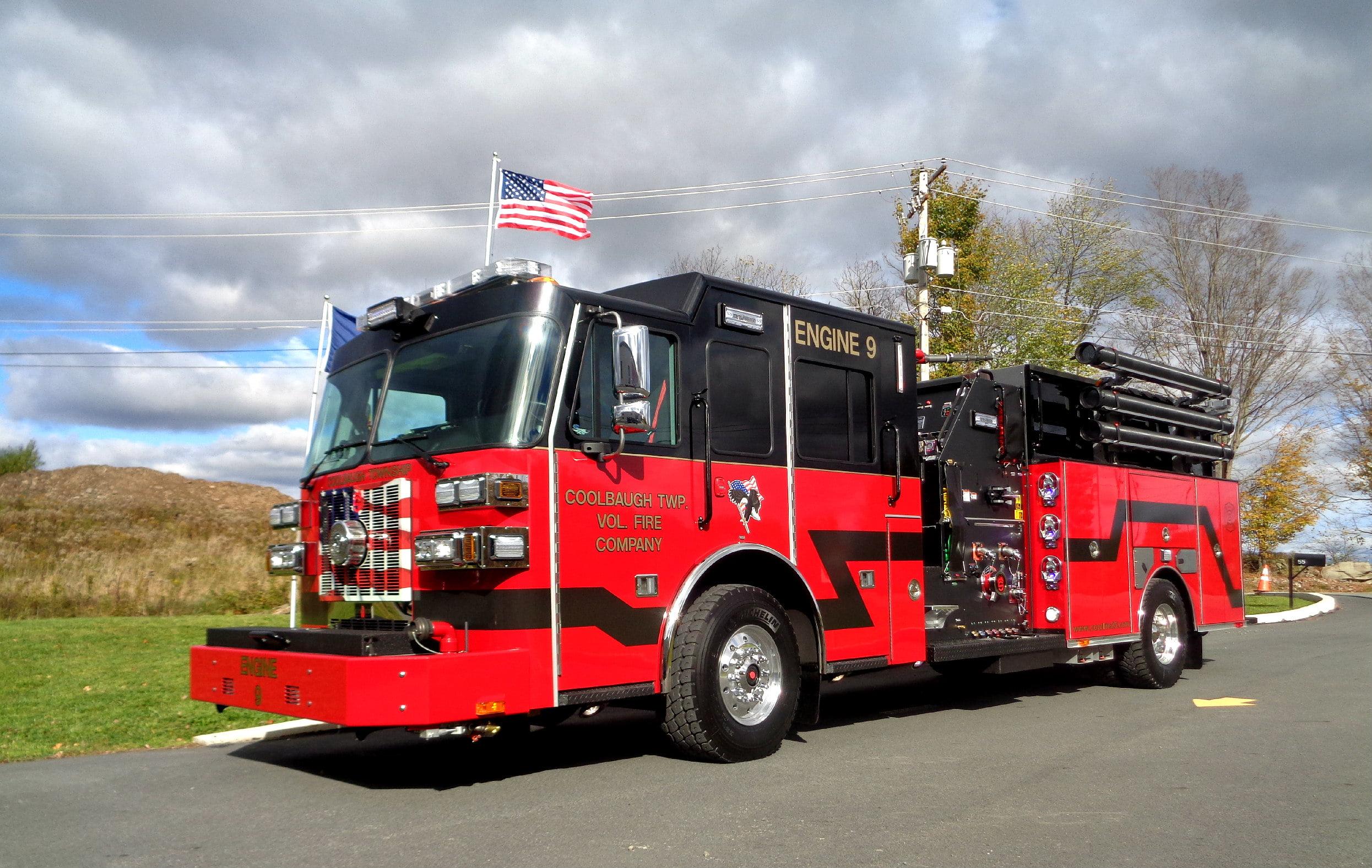 Sutphen heavy duty custom pumper custom fire trucks sutphen custom pumper coolbaugh pa sciox Gallery