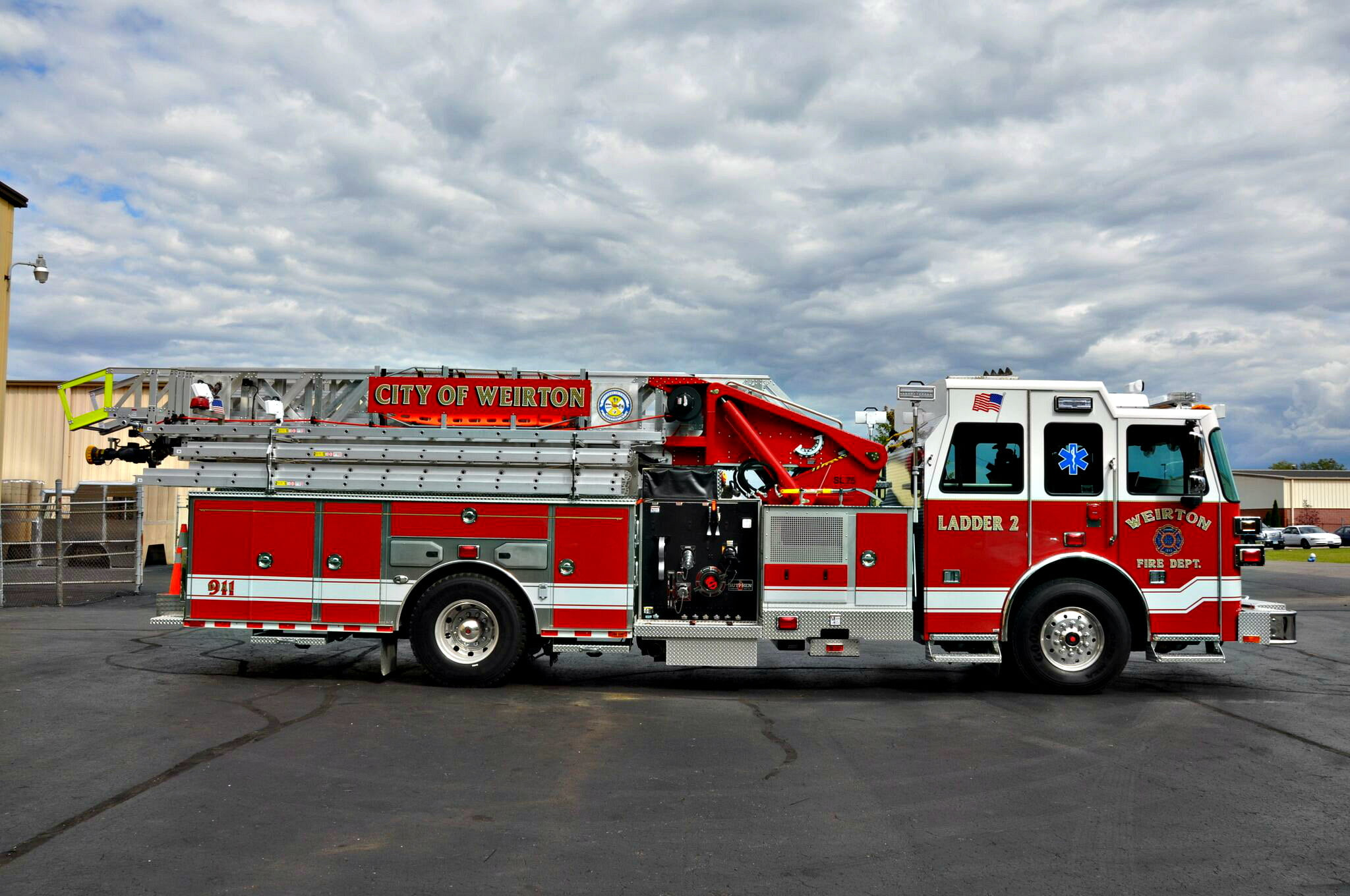SL 75 Aerial Ladder, Weirton, WV