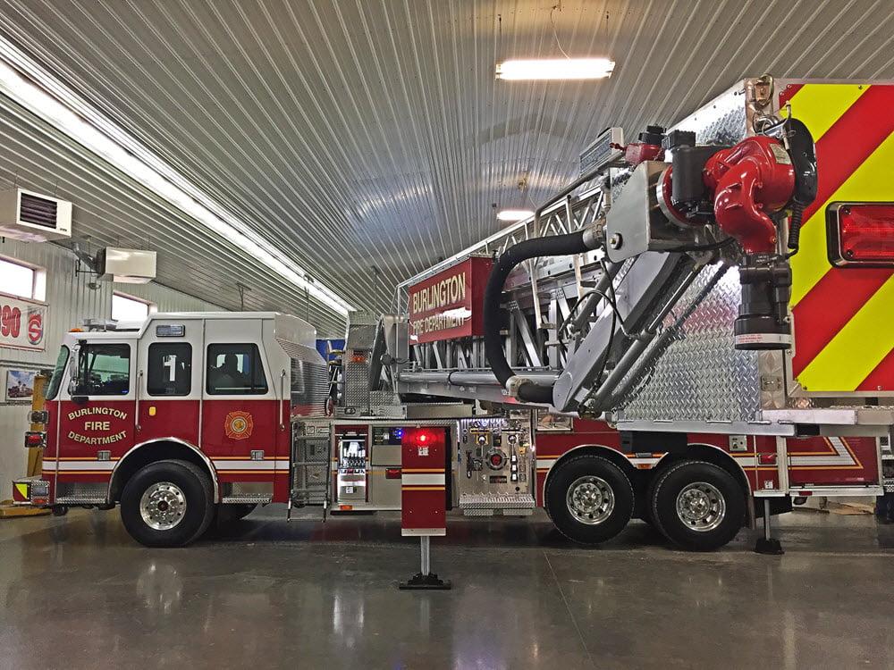 Commercial Truck Values >> SPH 100 – Burlington Fire Department, NC | Sutphen
