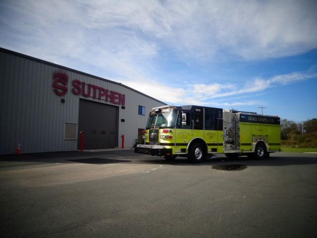 Custom Pumper – Grace Chapel Fire Department, NC