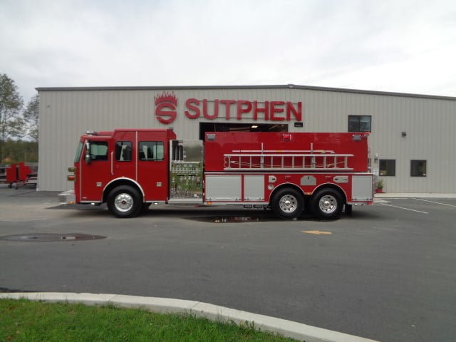 Custom Wetside Tanker – Hanover TWP. Fire Department, OH