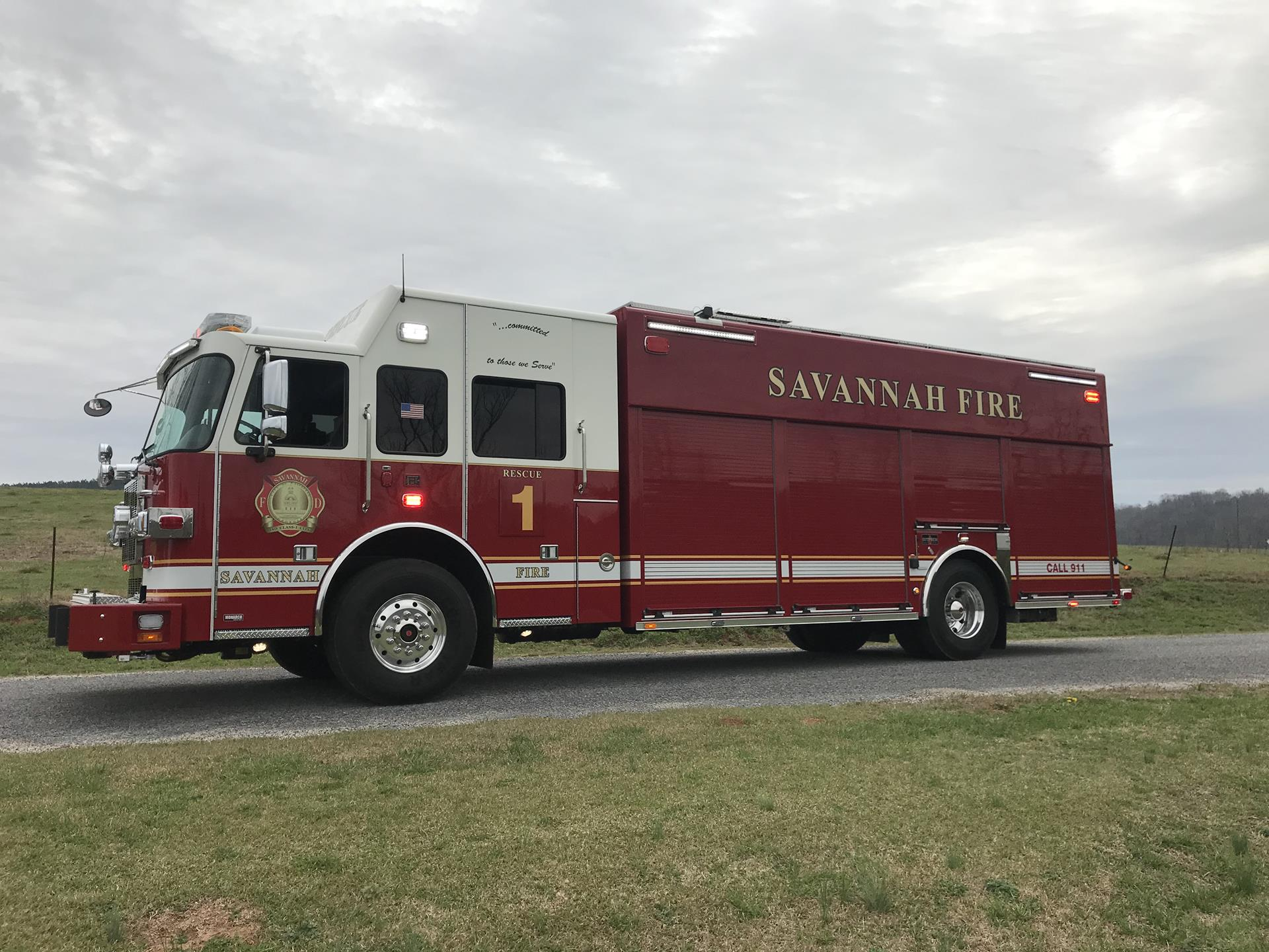 Heavy Rescue – Savannah Fire Department, GA