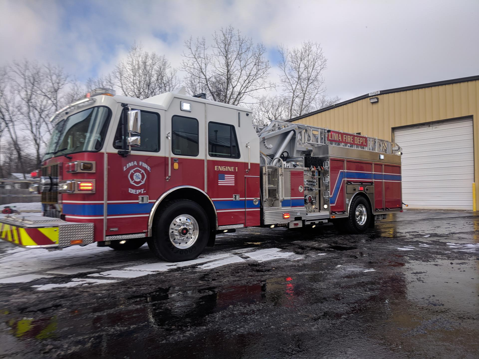 Lima Fire Department, OH