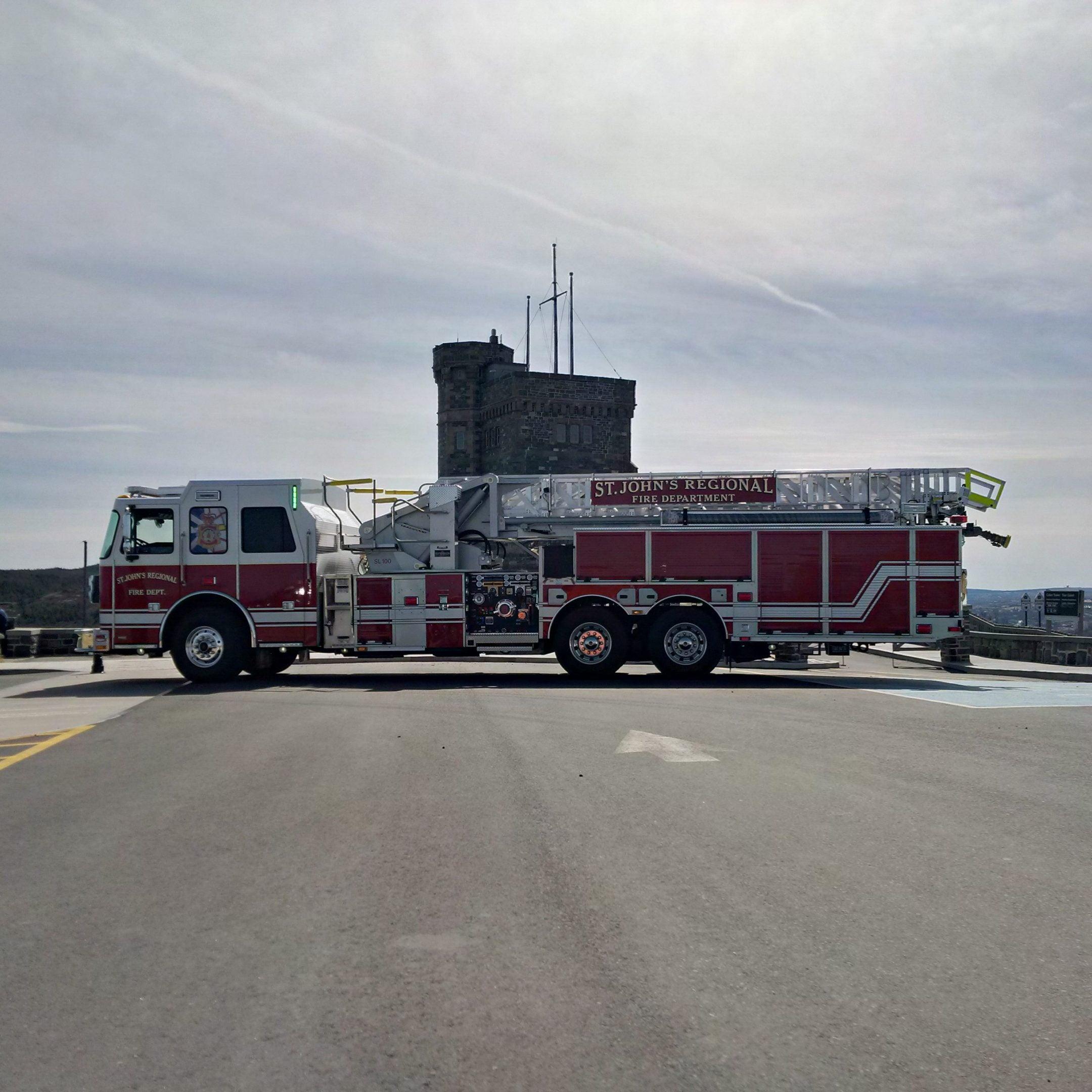 St. John's Regional Fire Department, Newfoundland
