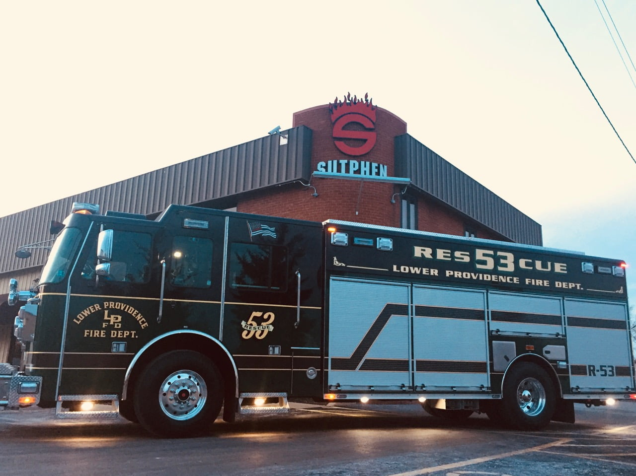 Custom Pumper – Lower Providence Fire Department, PA