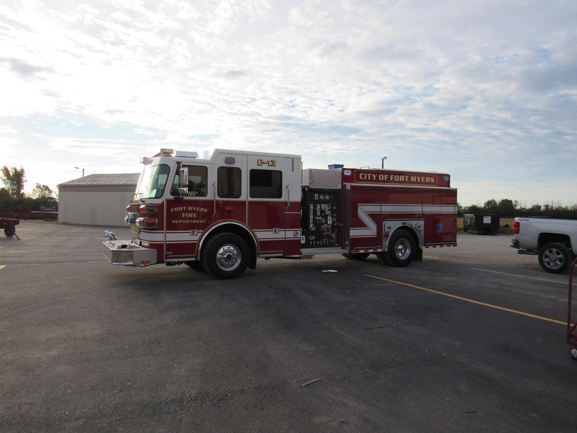 Custom Pumper – Fort Myers Fire Department, FL
