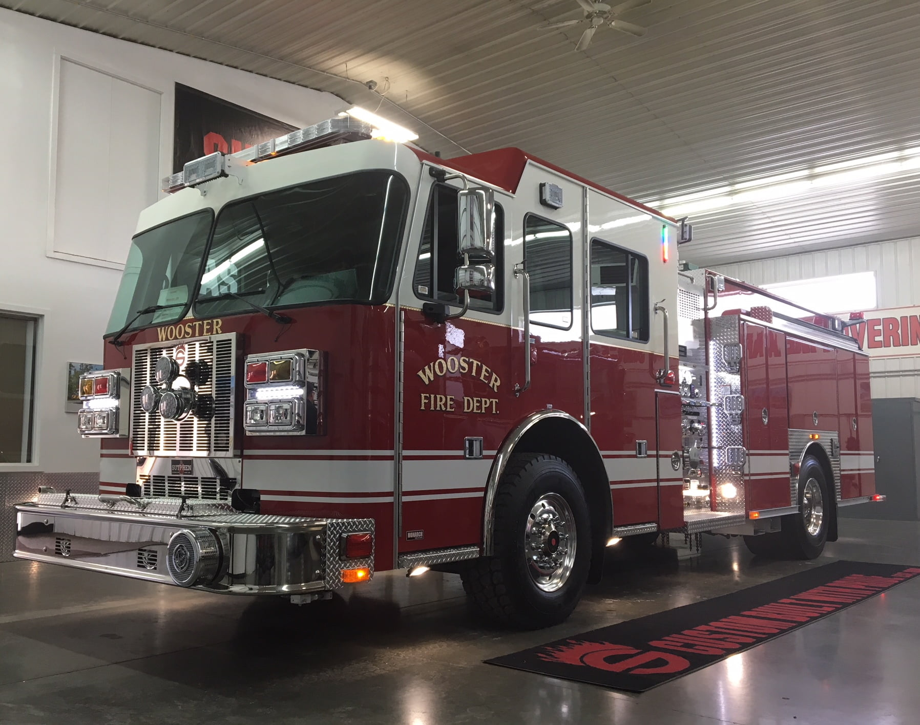 Commercial Truck Values >> Wooster Fire Department | Sutphen