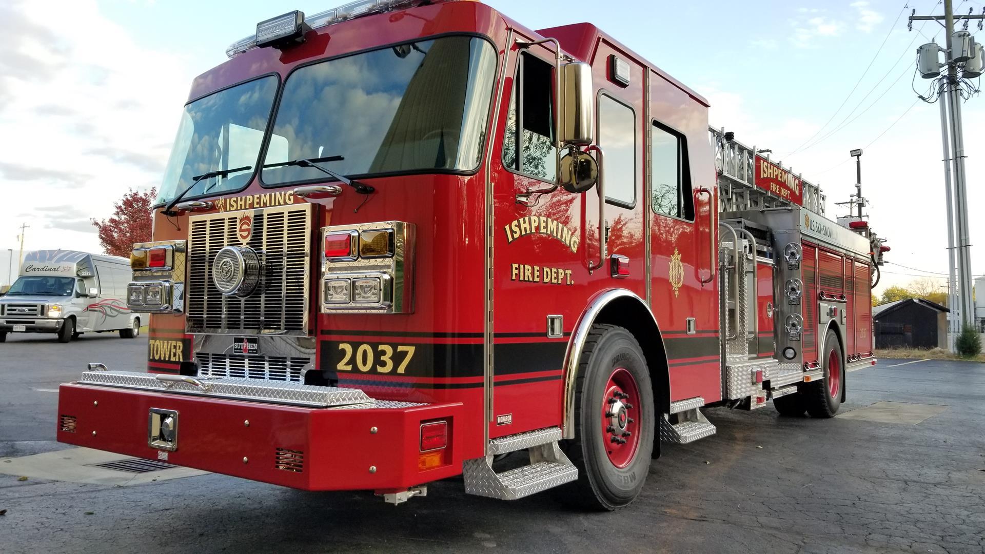 SP 70 – Ishpeming Fire Department, MI