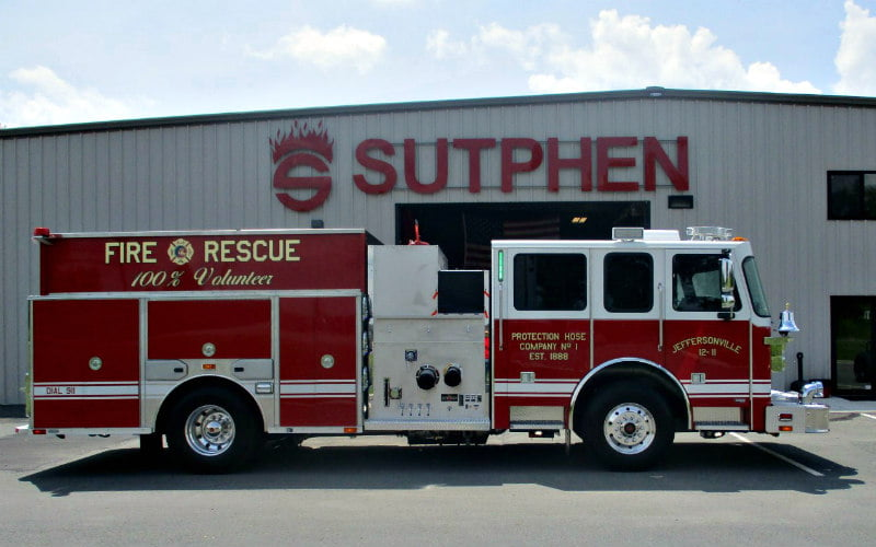 Fire Truck Manufacturers | Custom Fire Apparatus | Sutphen