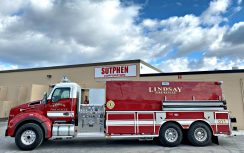 Commercial Tanker – Lindsay Fire Department, OK
