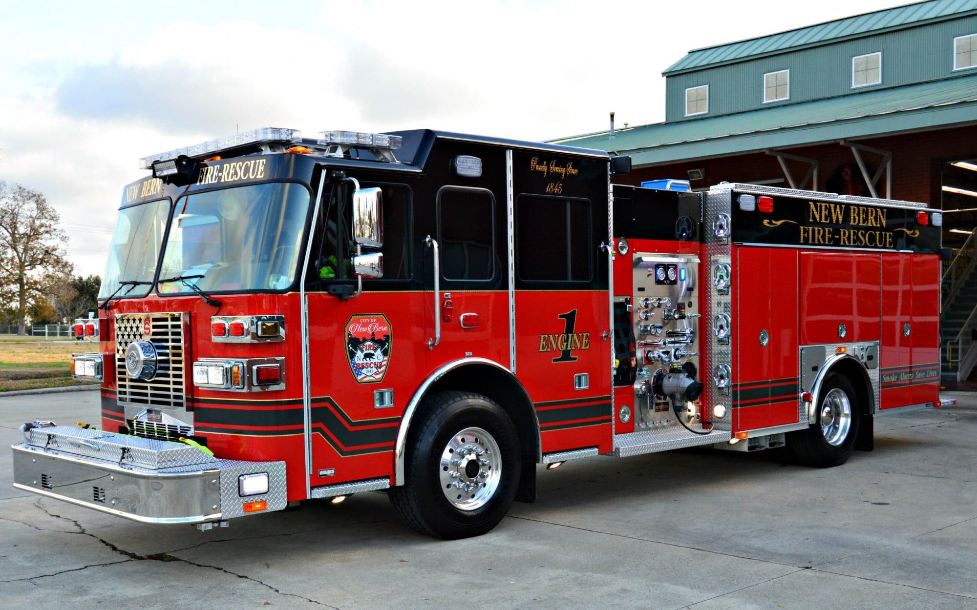 New Bern Fire Department, NC