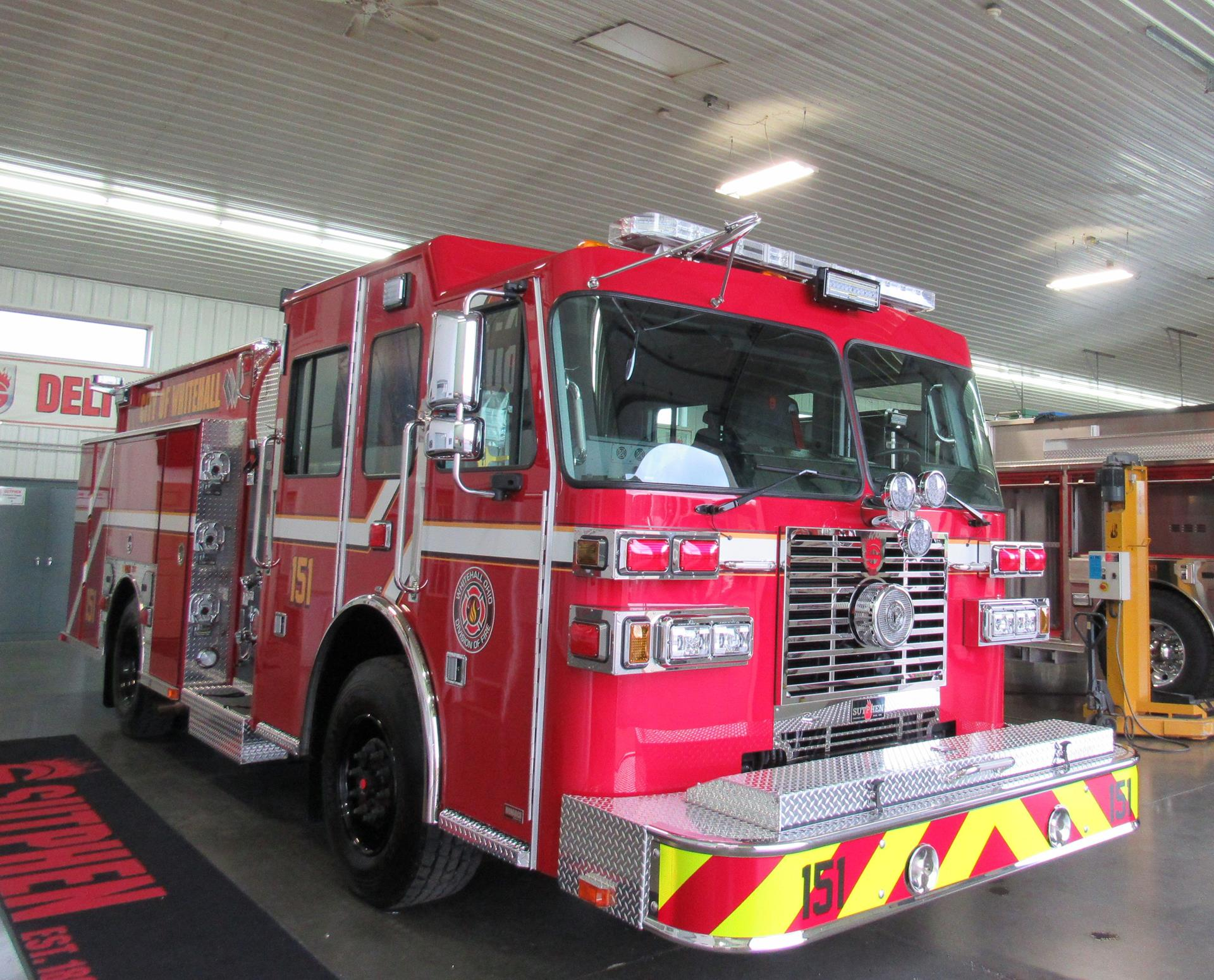Whitehall Division of Fire Officer Side