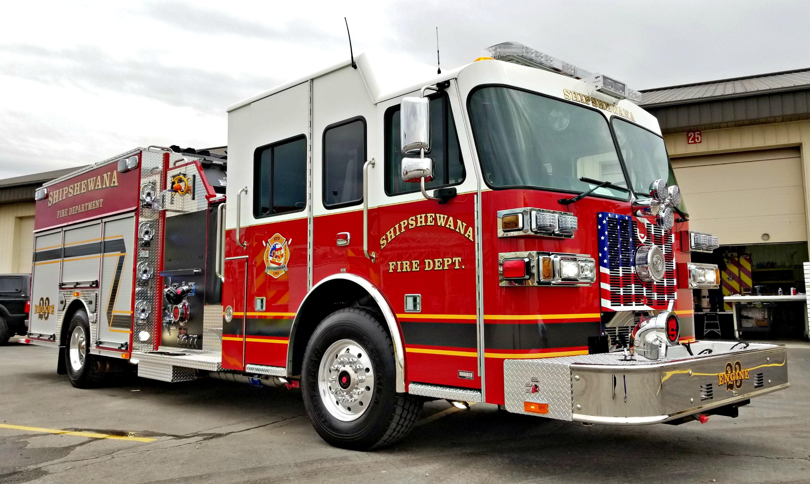 Custom Pumper – Shipshewana Fire Department, IN