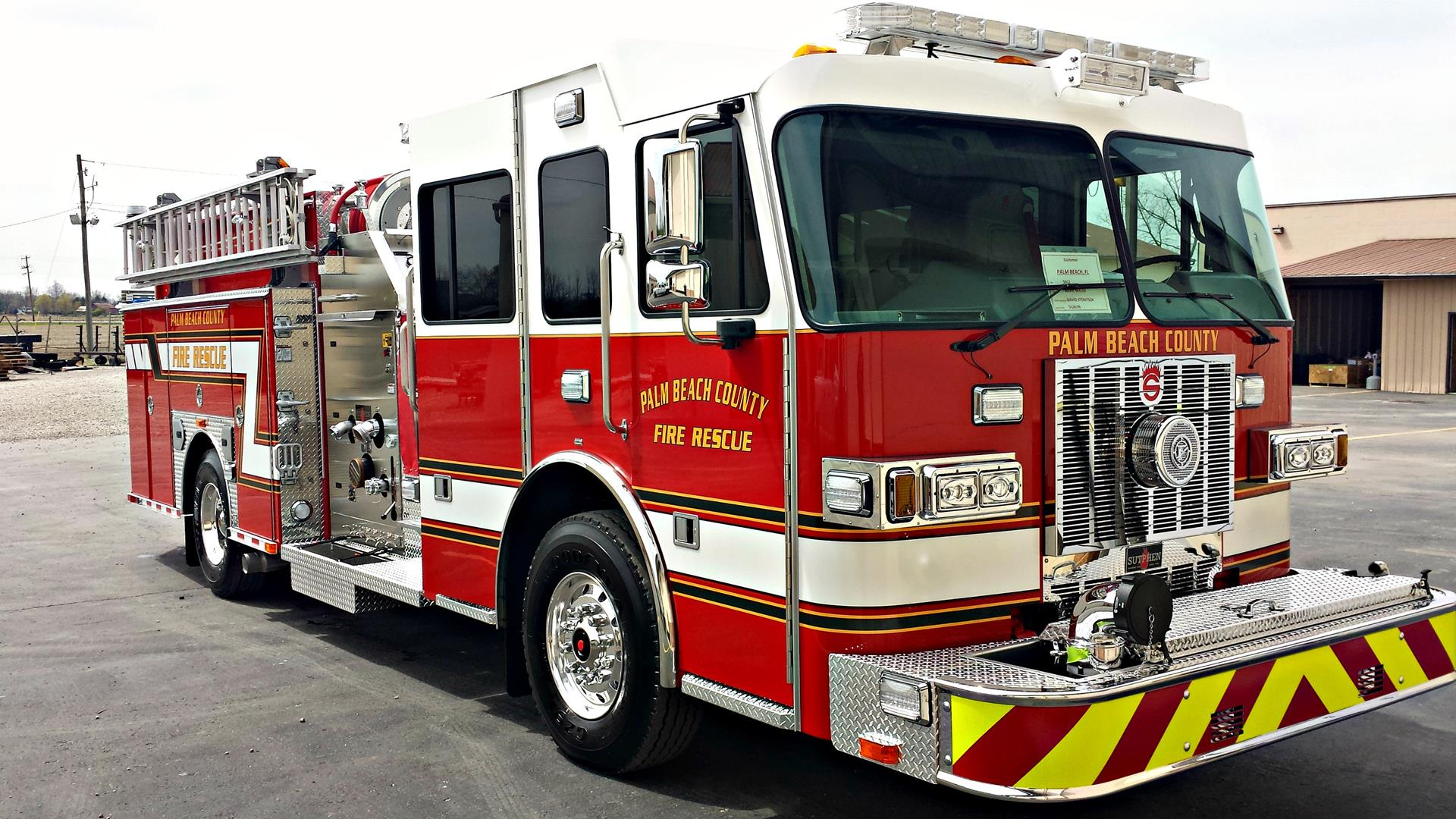 Palm Beach County Fire Department Sutphen