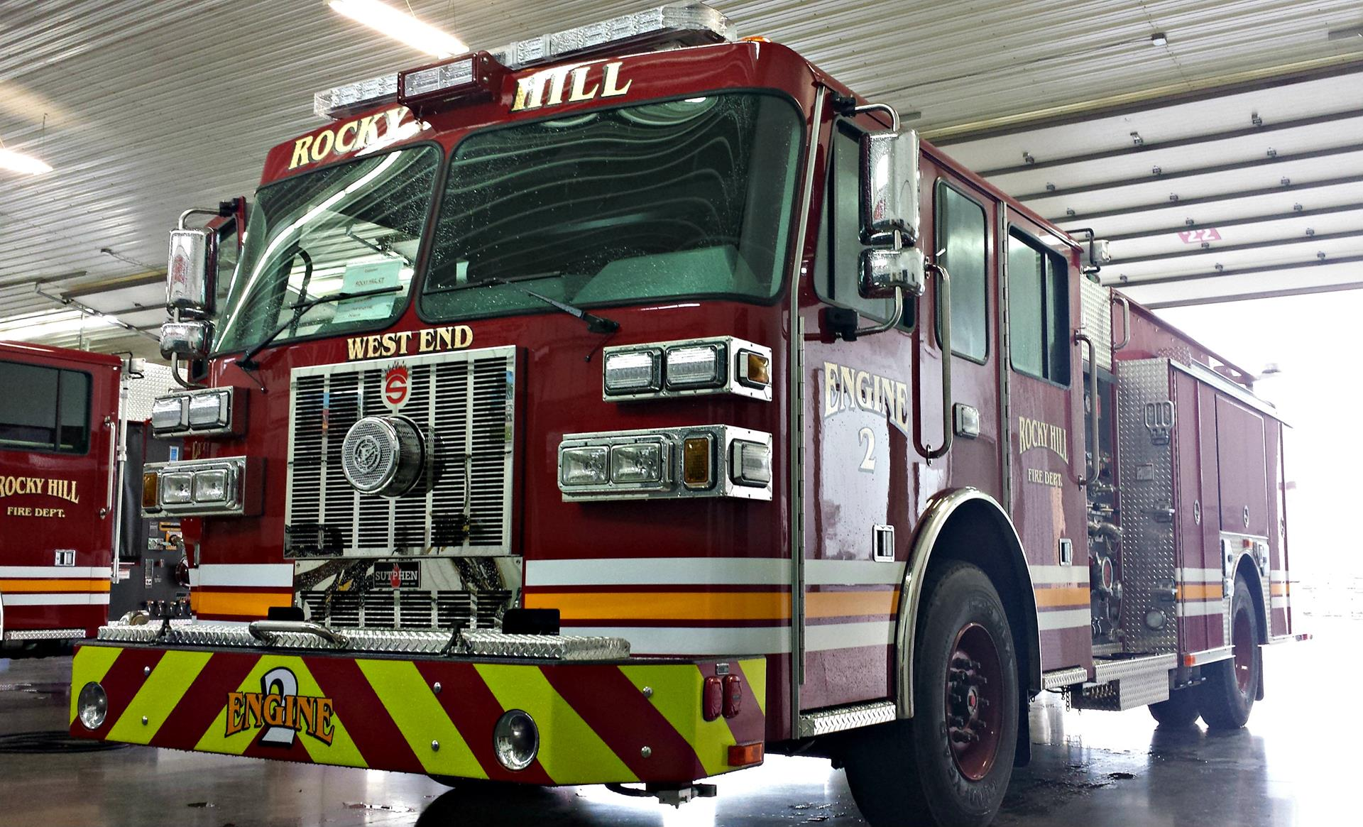 Heavy Duty Trucks >> Rocky Hill Fire Department | Sutphen