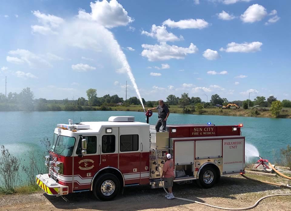 Custom Pumper – Sun City Fire Department, AZ