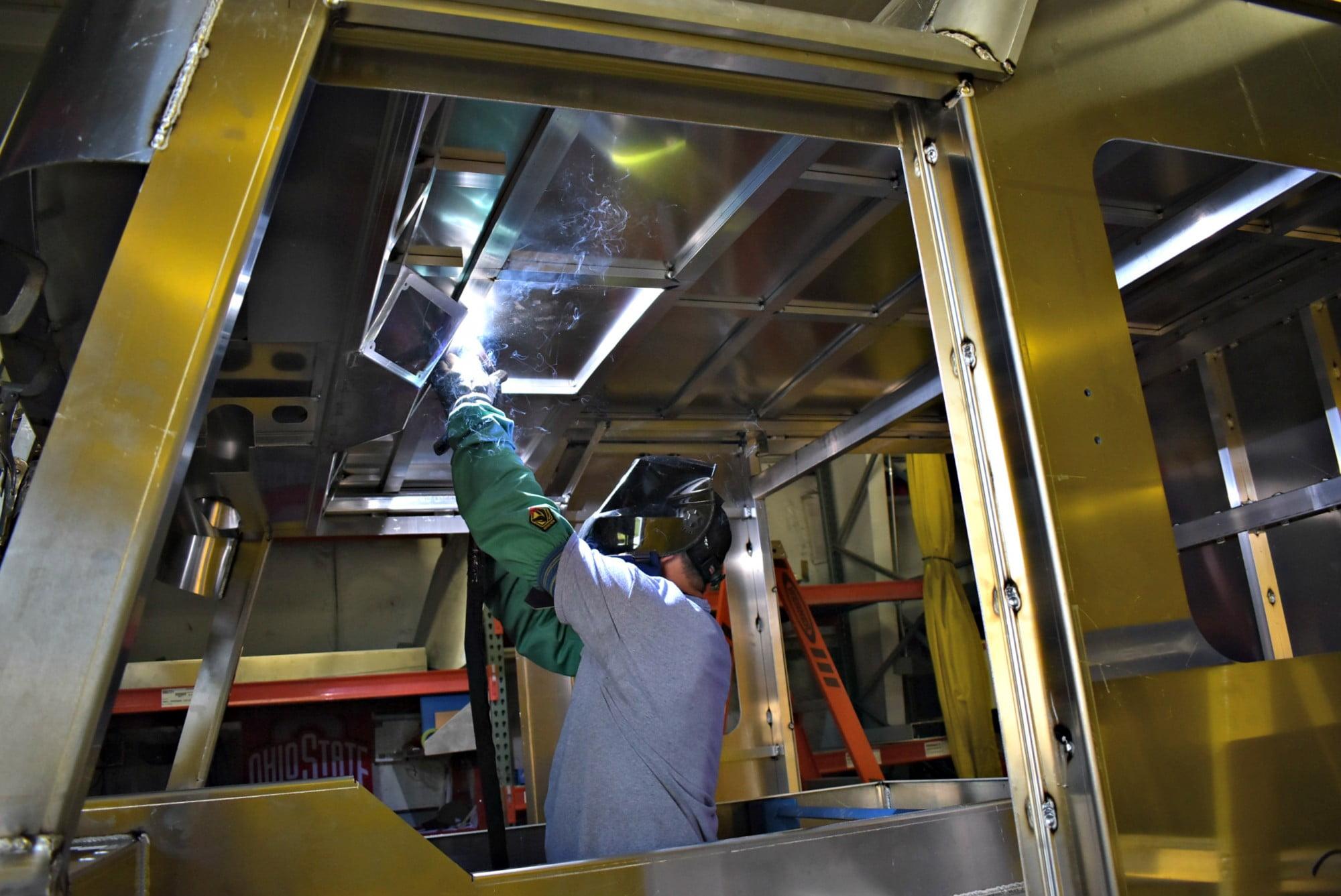 sutphen-cab-welding