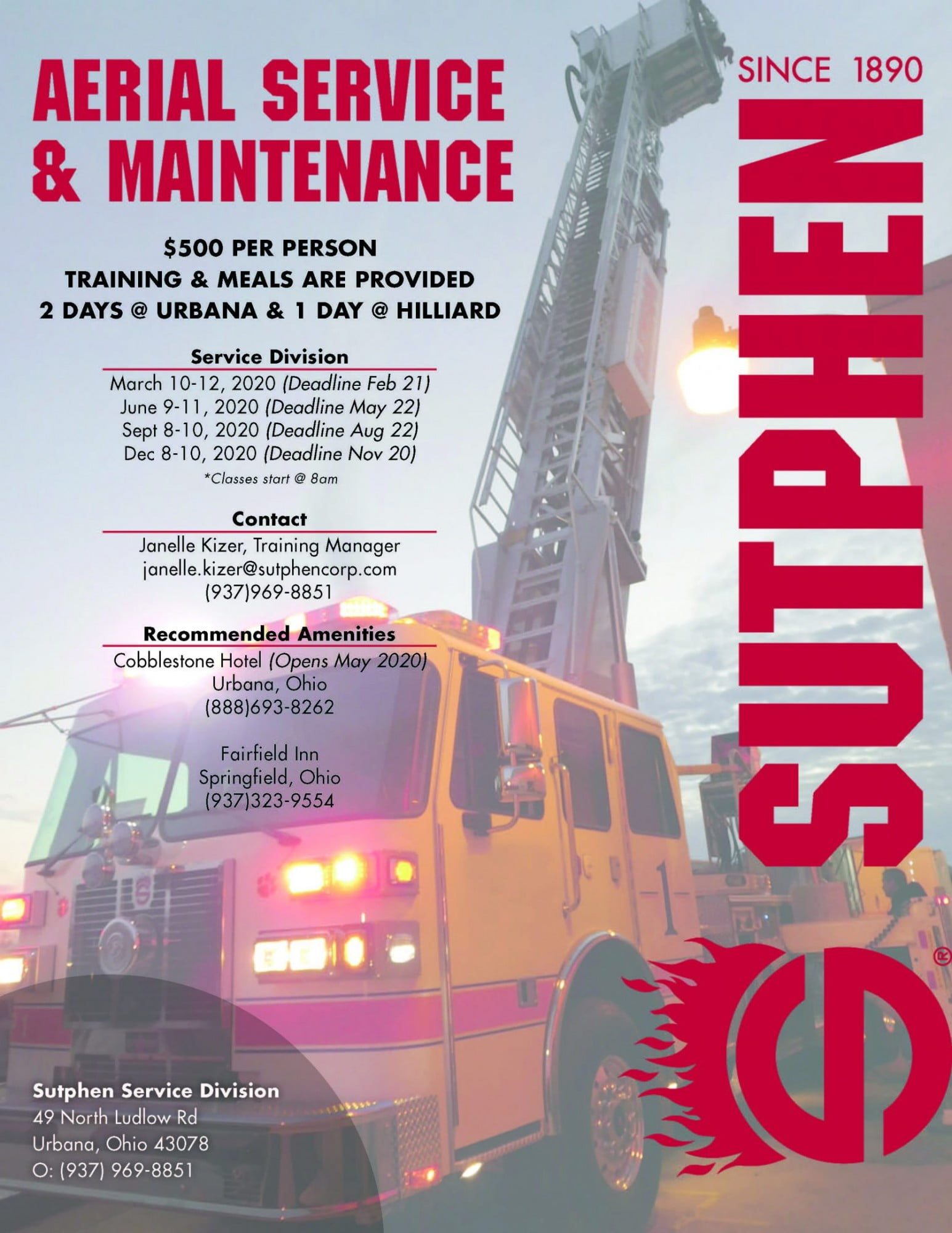 Sutphen Training Flyer