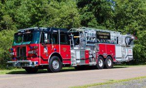 SP95 & SP100 Aerial Platforms Fire Truck