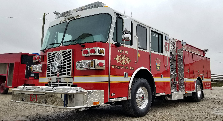 Custom Pumper – Winston-Salem Fire Department, NC